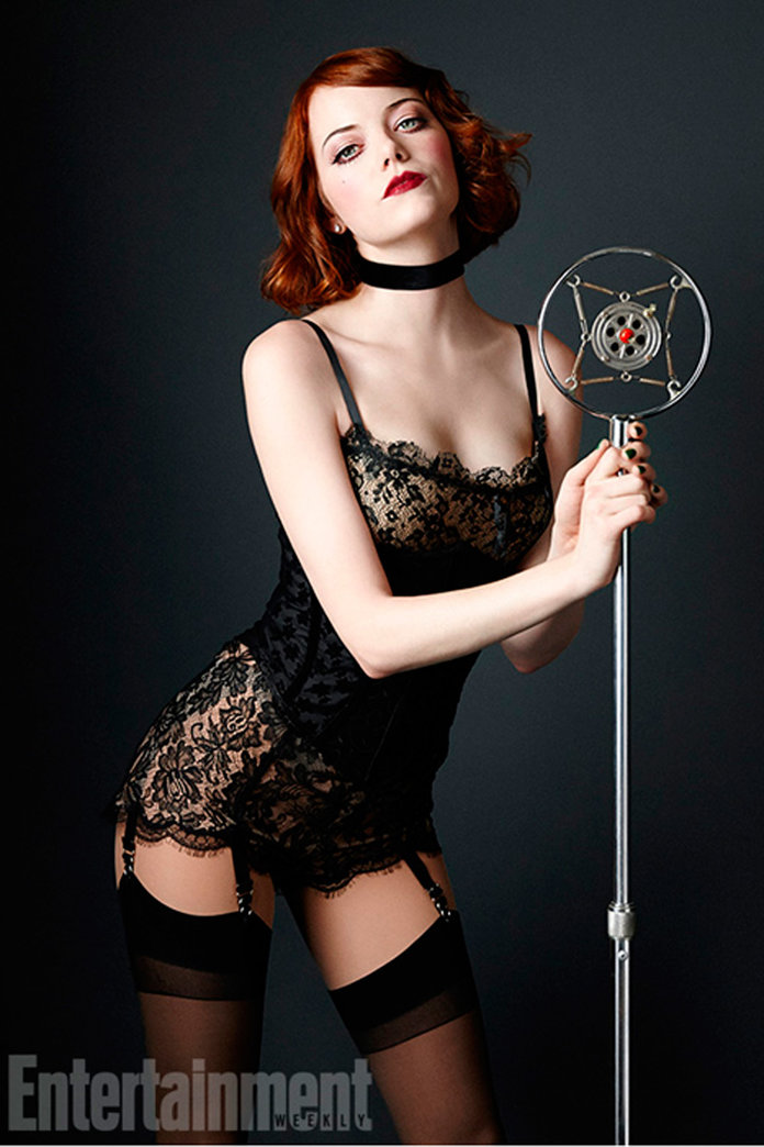 Just Wow. Emma Stone Is A Sexy '30s Siren At The First Look Of Her Cabaret Character
