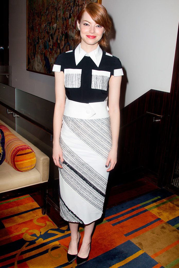 Emma Stone Gives Us A Foolproof Tailoring Masterclass