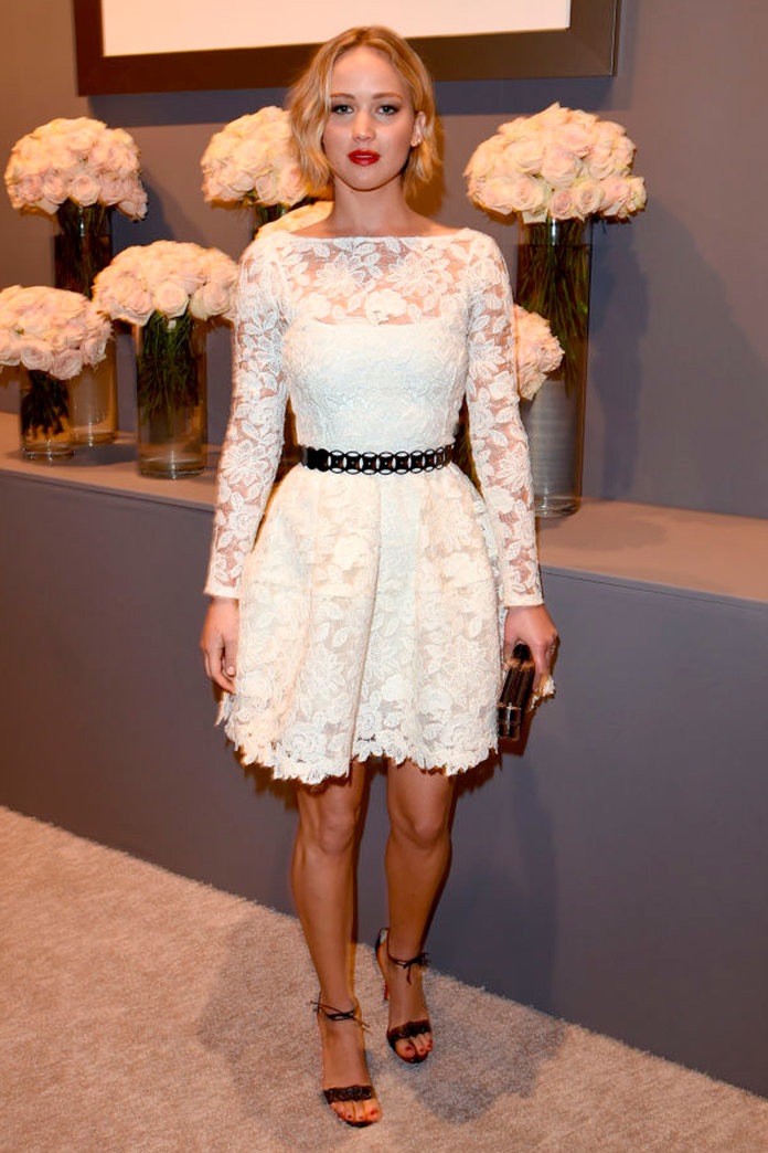 Jennifer Lawrence's Gorgeous Tribute To Oscar De La Renta