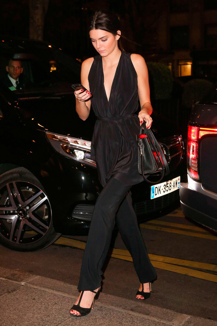 Kendall Jenner & Co Show Off The Ultimate PFW Uniform At Star-Studded Bash