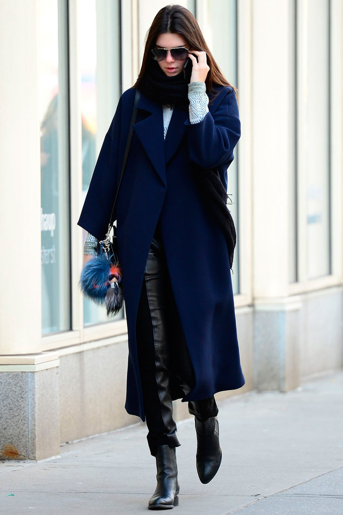 Kendall Jenner Debuts The Coolest Coat Of The Season...