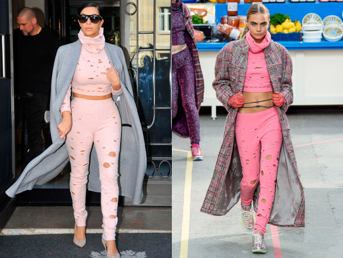 Kim Kardashian Just Rocked THAT Tricky Chanel Outfit