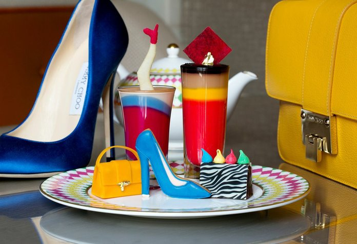 Jimmy Choo Team Up With The Berkeley Hotel On A Special Afternoon Tea