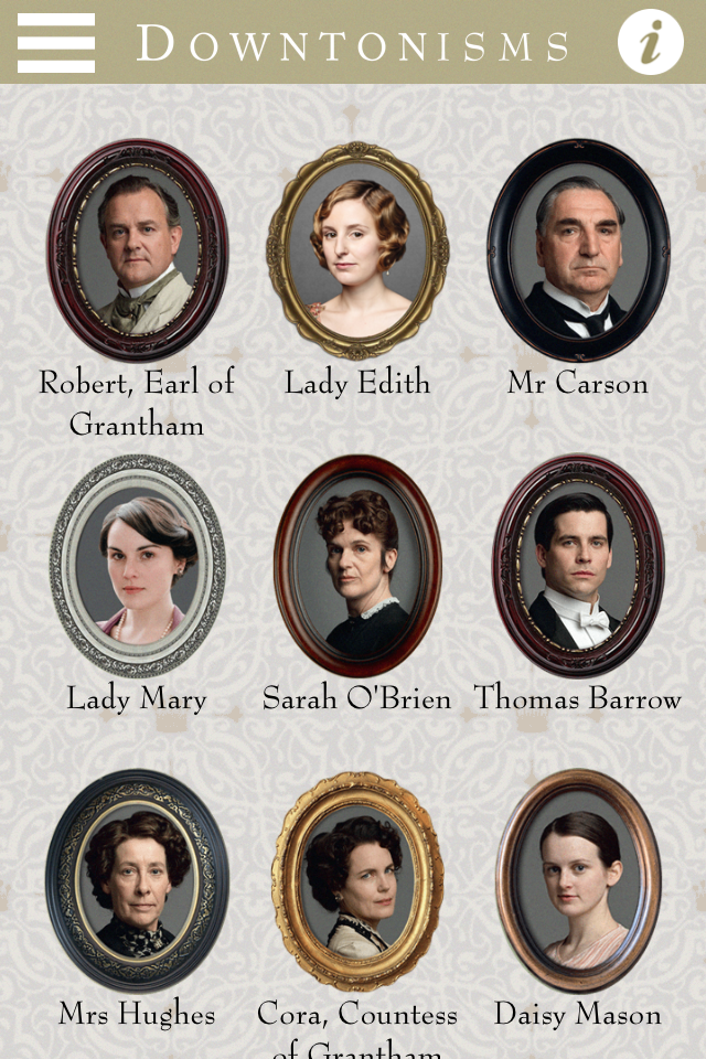 Check Out The Top Notch Downton Abbey App