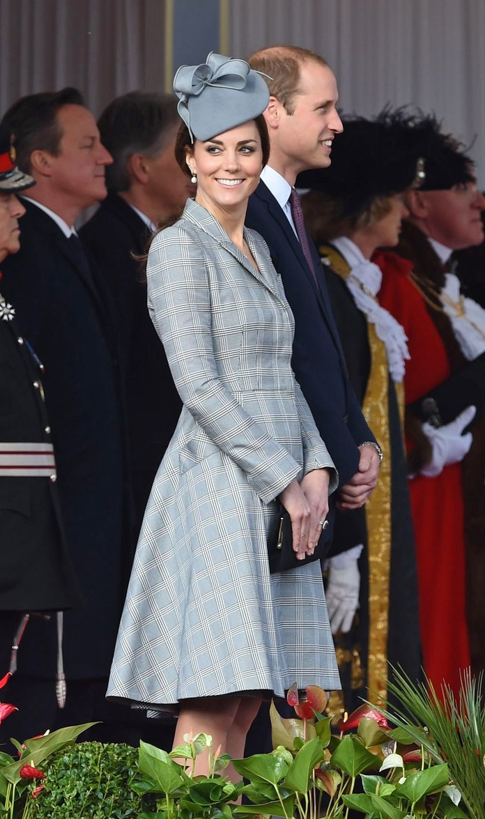 Kate Middleton Wows In Alexander McQueen For Her First Pregnant Public Appearance