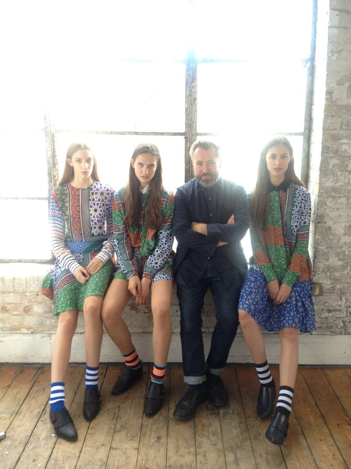 Exclusive: Behind-the-scenes on the making of the Preen Line lookbook
