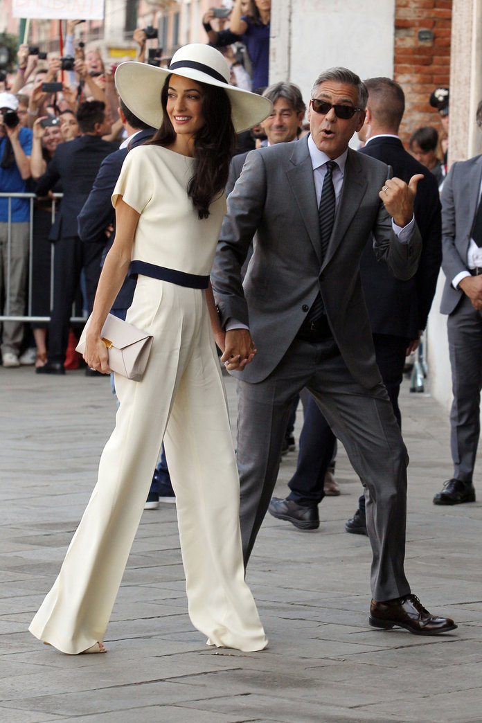 Amal Clooney Is Nominated For The British Style Award 2014 – But Where's Alexa?