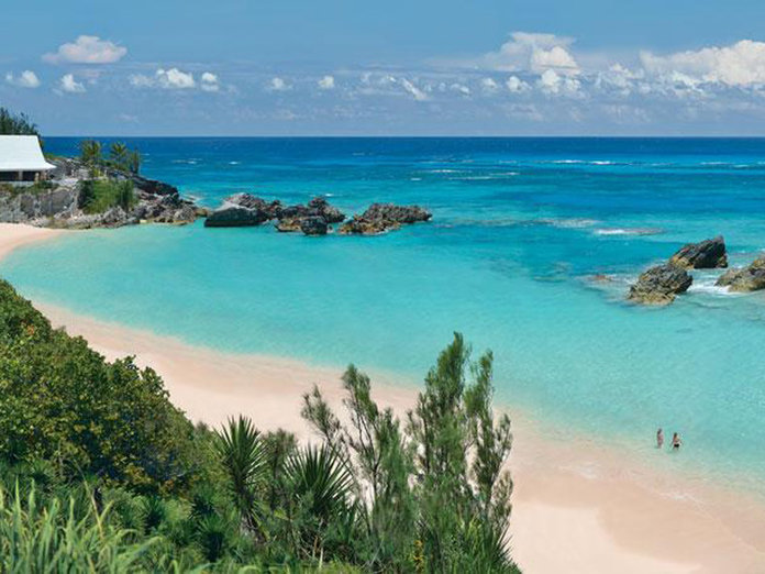 How To Holiday Like X Factor's Louis Walsh and Tulisa In Bermuda
