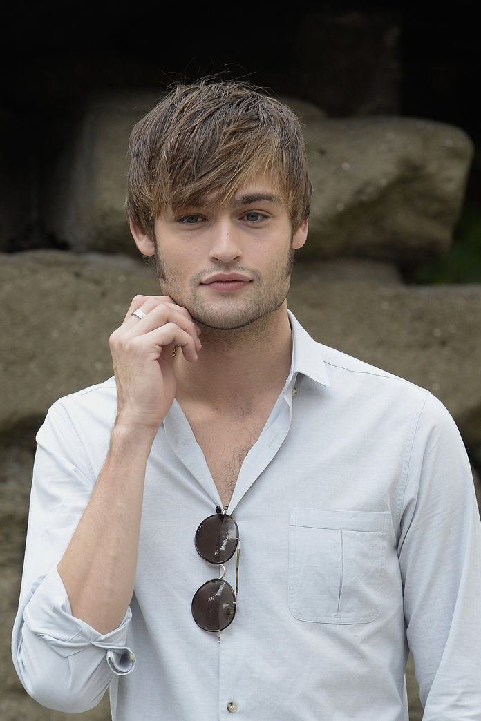 Douglas Booth On Food ...