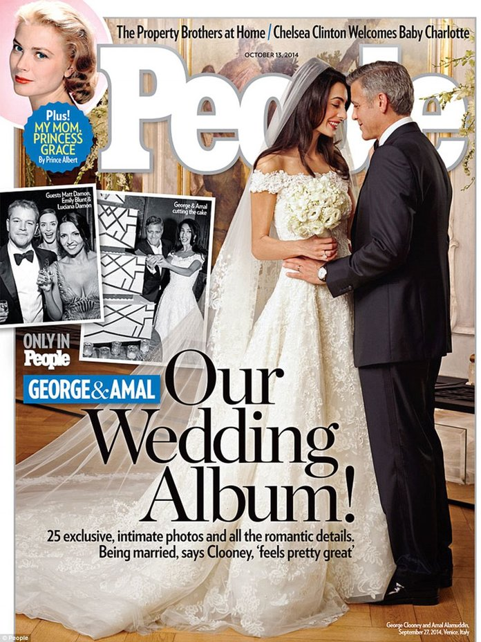There's Already A Copy Of Amal Alamuddin's Wedding Dress And It Is Beaut