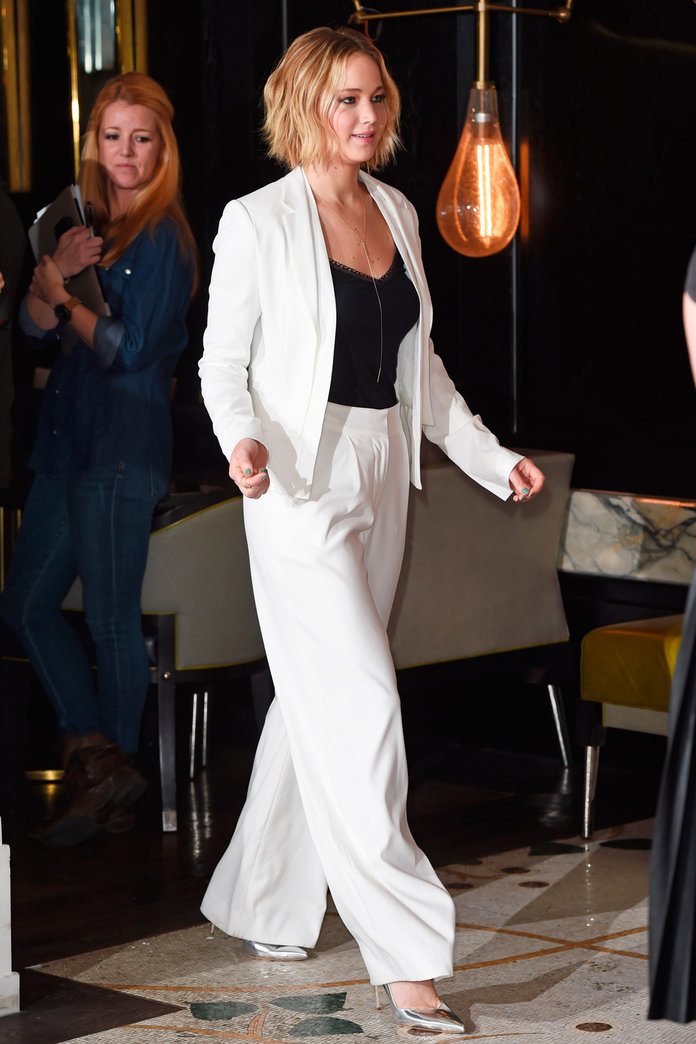Jennifer Lawrence Kicks Off The Hunger Games Promo Tour In Serious Style