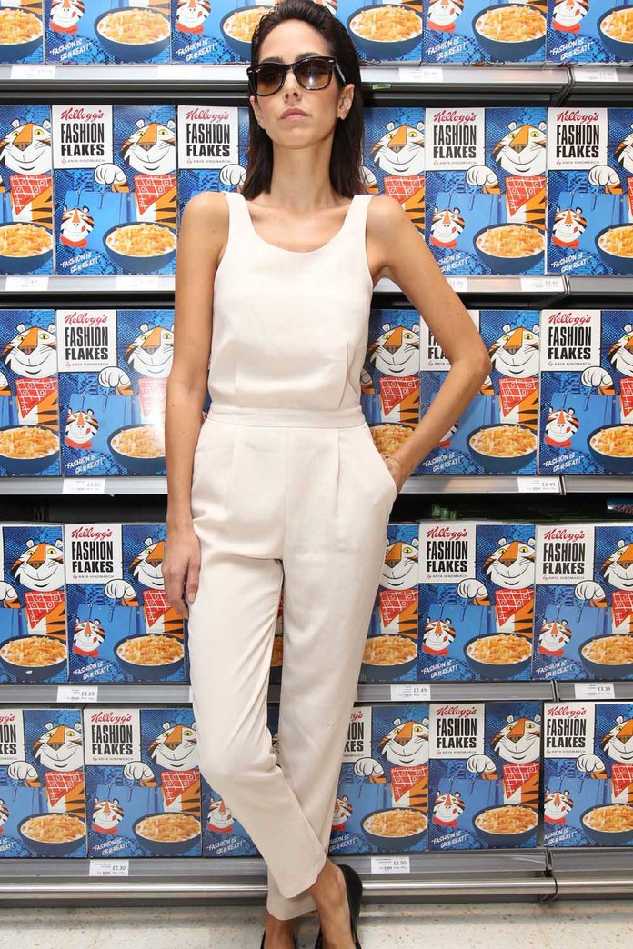 Anya Hindmarch's Fashion Flakes Are Gr-r-reat!