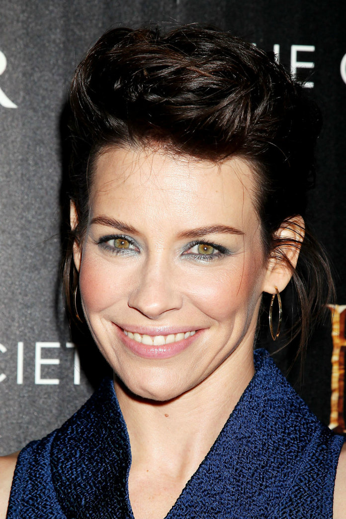The Hobbit Star Evangeline Lilly Talks Elf Ears, Versace Frocks And Her Favourite £7 Fragrance