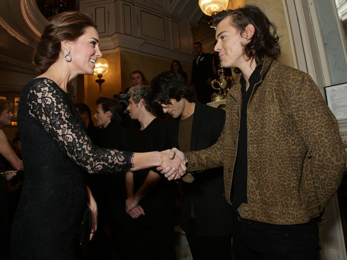 What Happened When Kate Middleton Met Harry Styles
