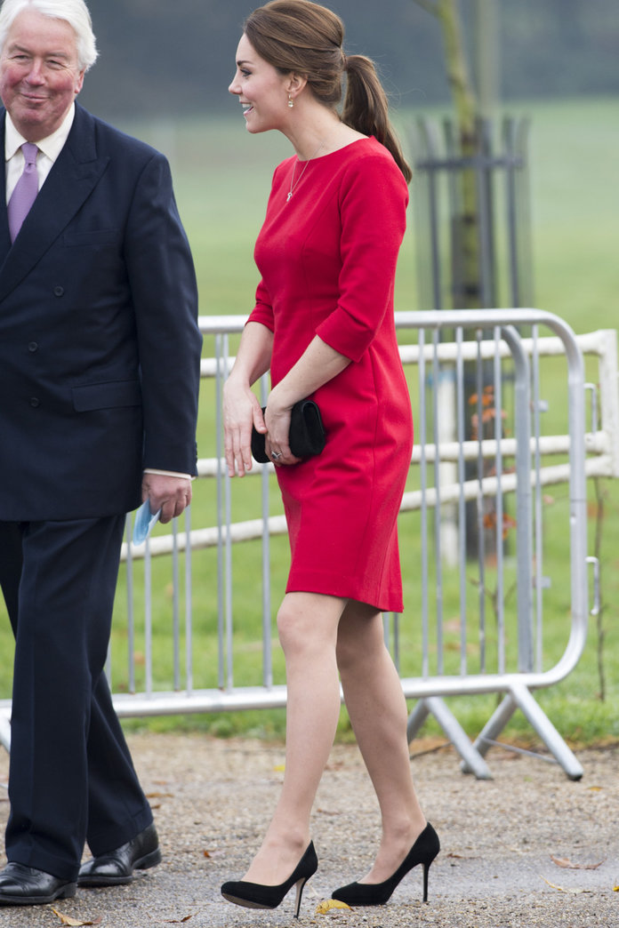 Kate Middleton Channels A Subtle 60s Vibe For Charity Appeal
