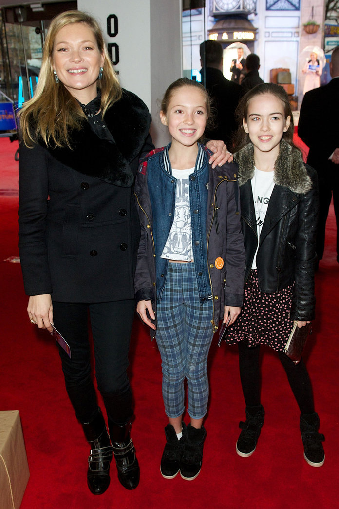 Kate Moss And Daughter Lila Grace Hit The Red Carpet