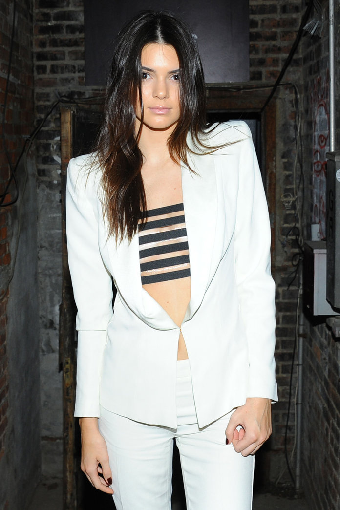 Kendall Jenner's Chopped Off (Some Of) Her Hair