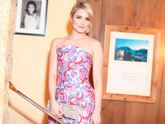 It's Going To Cost You A LOT To Steal A Kiss From Dianna Agron...