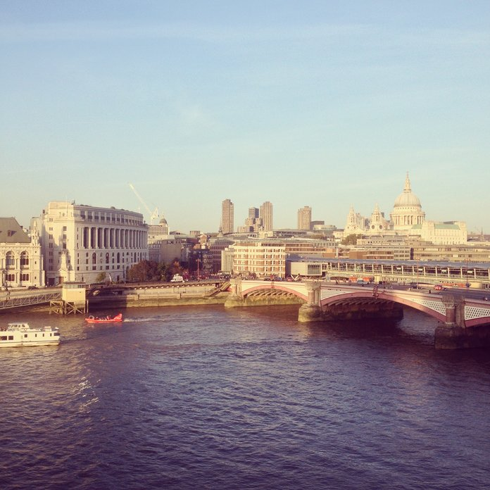 Looking for the best views in London? Check out the Mondrian Hotel...