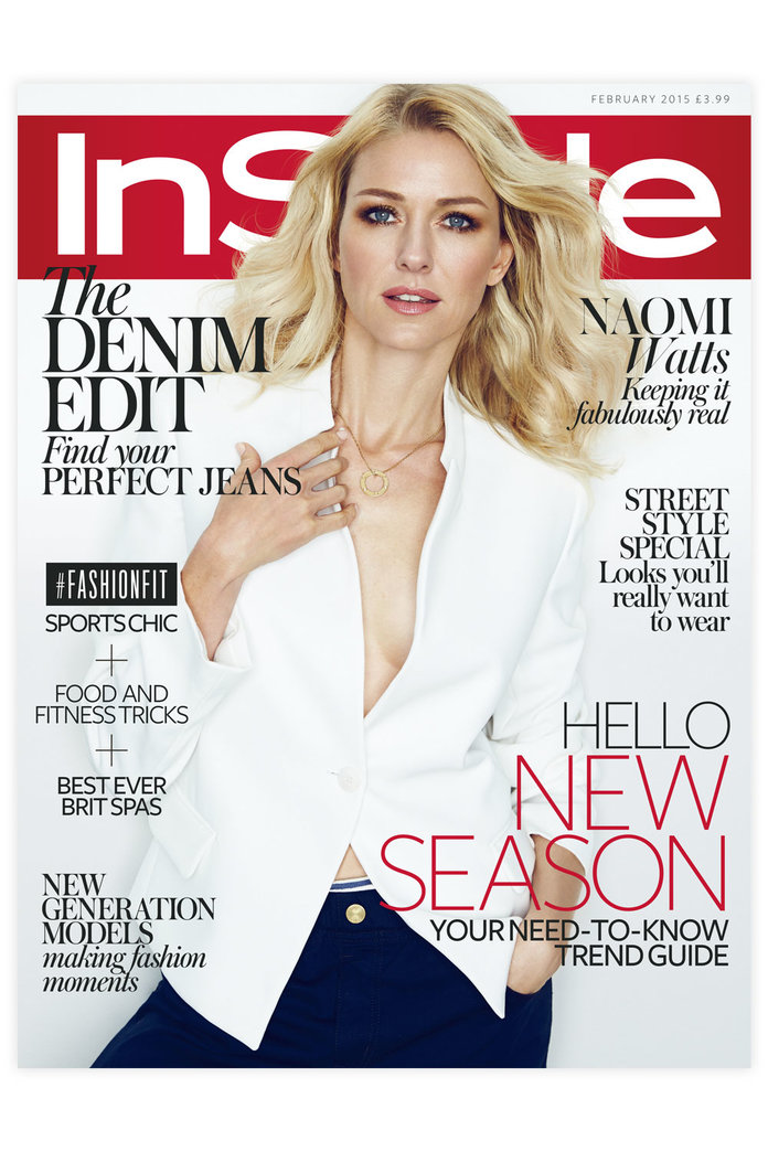 Meet InStyle's February Cover Star: Naomi Watts