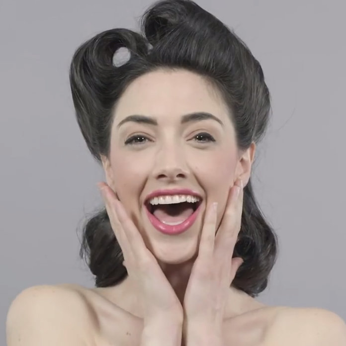 VIDEO: 100 Years Of New Year's Make-Up Inspo In 1 Minute Flat
