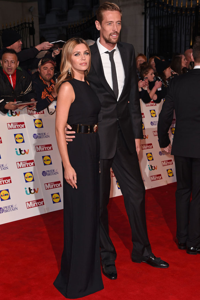 Abbey Clancy Reveals She's Pregnant With Baby Number Two