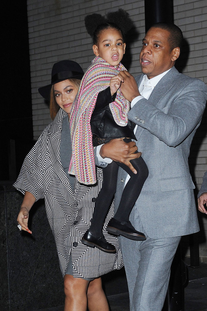 Beyonce, Jay Z And Blue Ivy's Super Cute Family Day Out