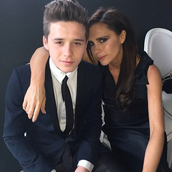 Brooklyn Beckham Shares The Cutest Picture Of Him And Mum Victoria