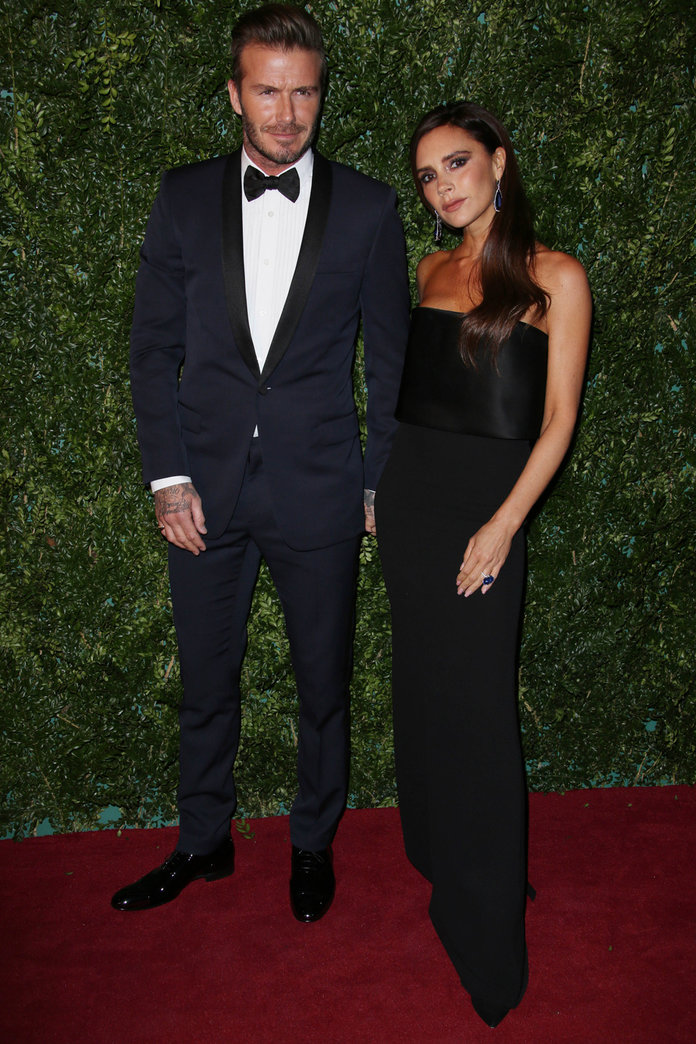 Victoria And David Beckham Go Head-To-Head With London's Best Dressed Couples On The Red Carpet