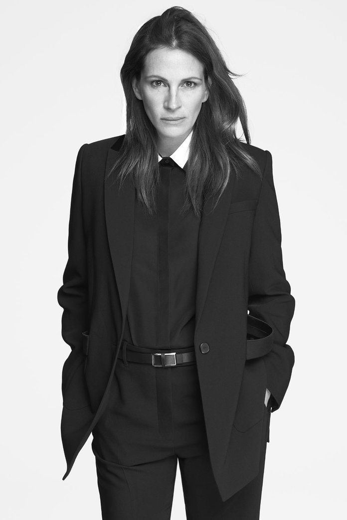Julia Roberts Does Androgyny For Givenchy's New Campaign