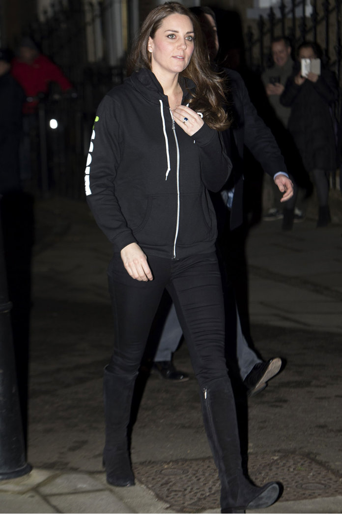Kate Middleton In A Hoodie? Yes, This Happened
