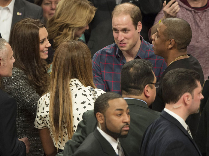 What Happened When Kate And Wills Met Beyonce And Jay Z