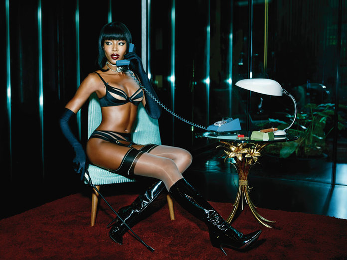 Naomi Campbell Gets VERY Racy For Agent Provocateur