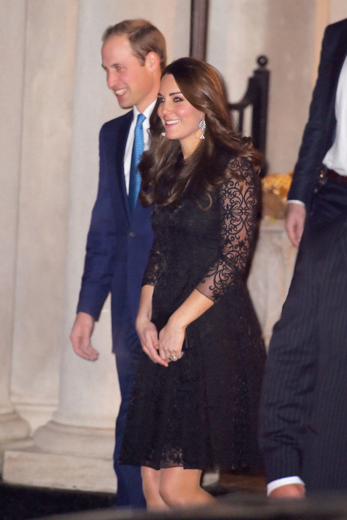 Kate Middleton And Prince William Touch Down In New York