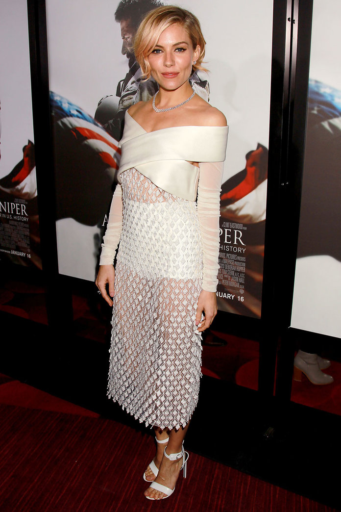 Sienna Miller Brings Back *Those* Granny Pants To The Red Carpet