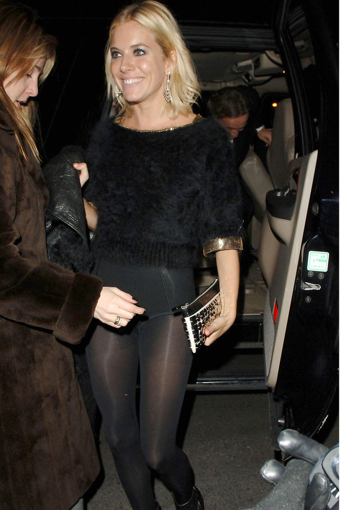 Sienna Miller Brings Back Those Granny Pants To The Red