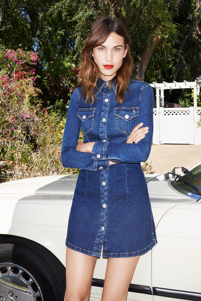 Alexa Chung's New AG Denim Line Has Landed! Here's What To Shop Now