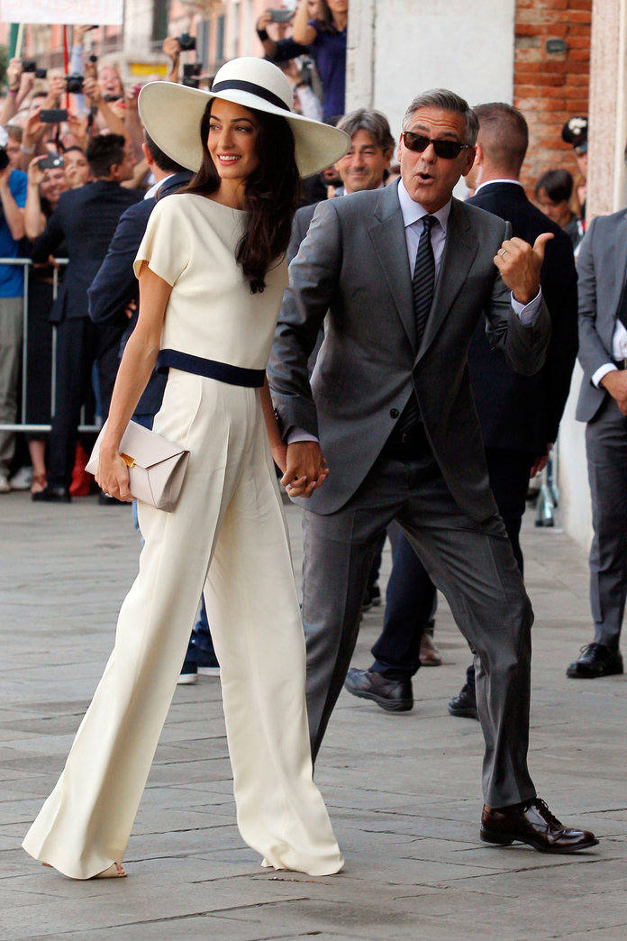 Amal Clooney Delivered THE Sassiest Fashion Put-Down