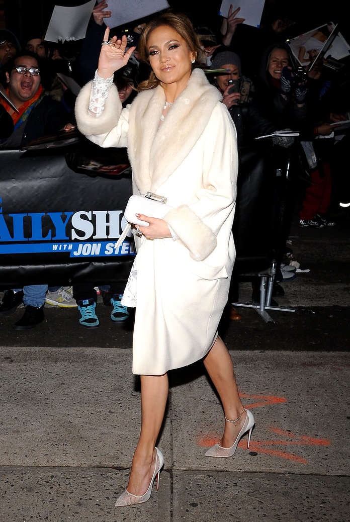 Jennifer Lopez: Four Gorgeous Coats, One *Very* Cold Day...
