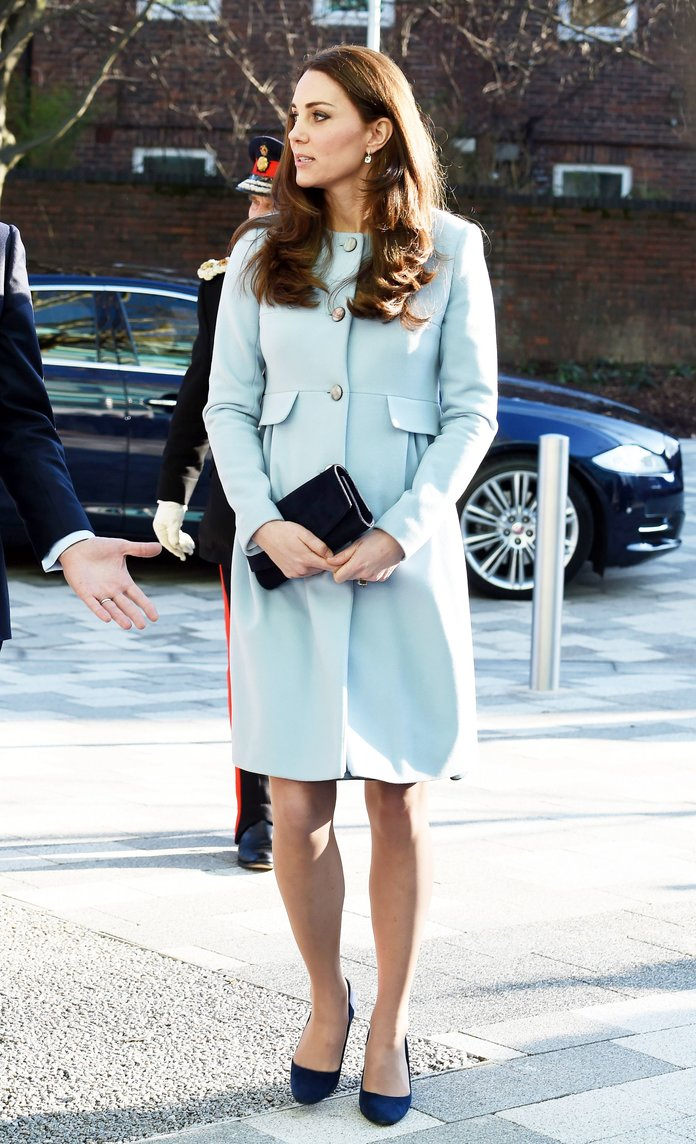 Want Kate Middleton's Gorgeous Blue Coat? It Can (And Will) Be Yours...