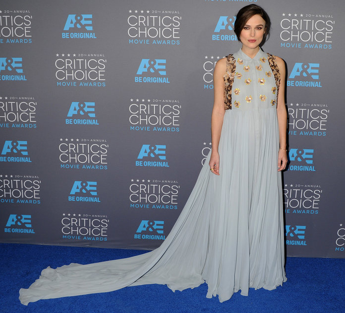 Keira Knightley Has One Up On Kate Middleton In The Maternity Style Stakes