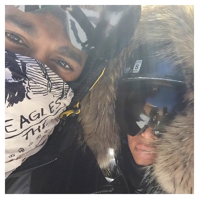 Kim Kardashian Is The Ultimate Ski Bunny In FITTED Slope Gear