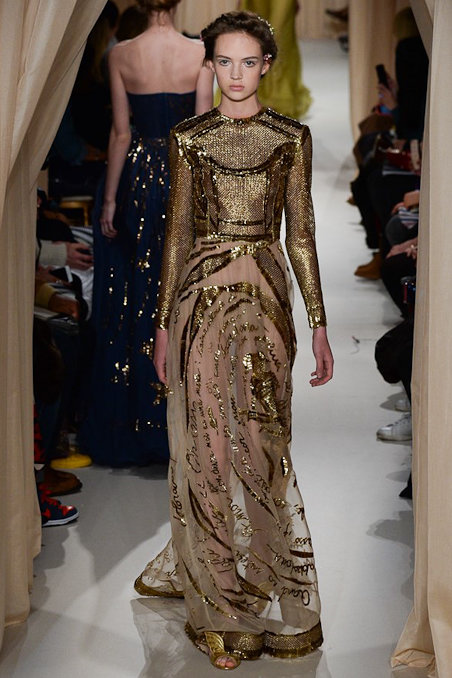 Valentino S/S'15 Couture: An Art, Poetry AND Fashion Lesson All Rolled Into One...
