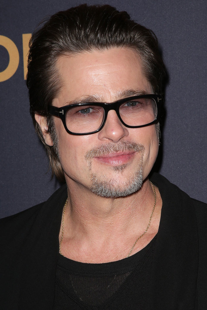 Brad Pitt Gets On Board With The Nail Art Trend. Yes, Really