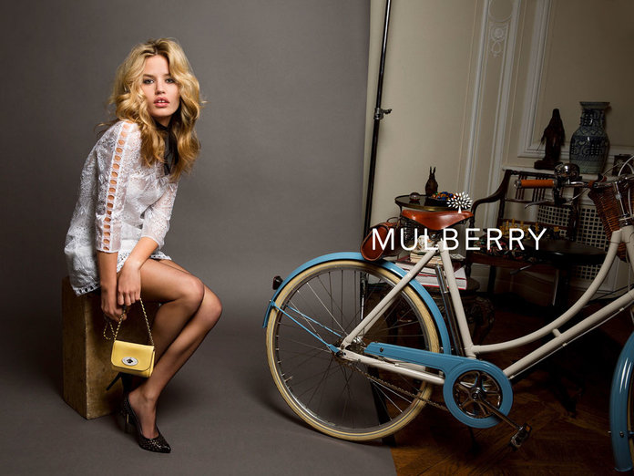 Georgia May Jagger Takes Over From Cara As Mulberry's New Girl