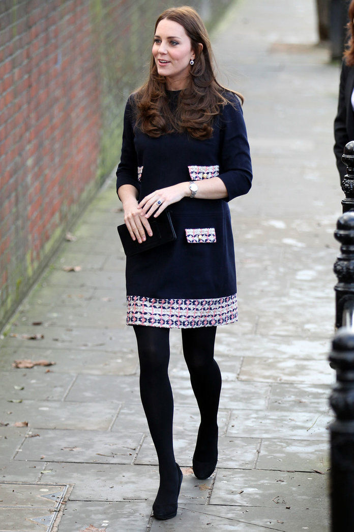 Kate Middleton Mixes Things Up In A Retro Dress By A New Designer
