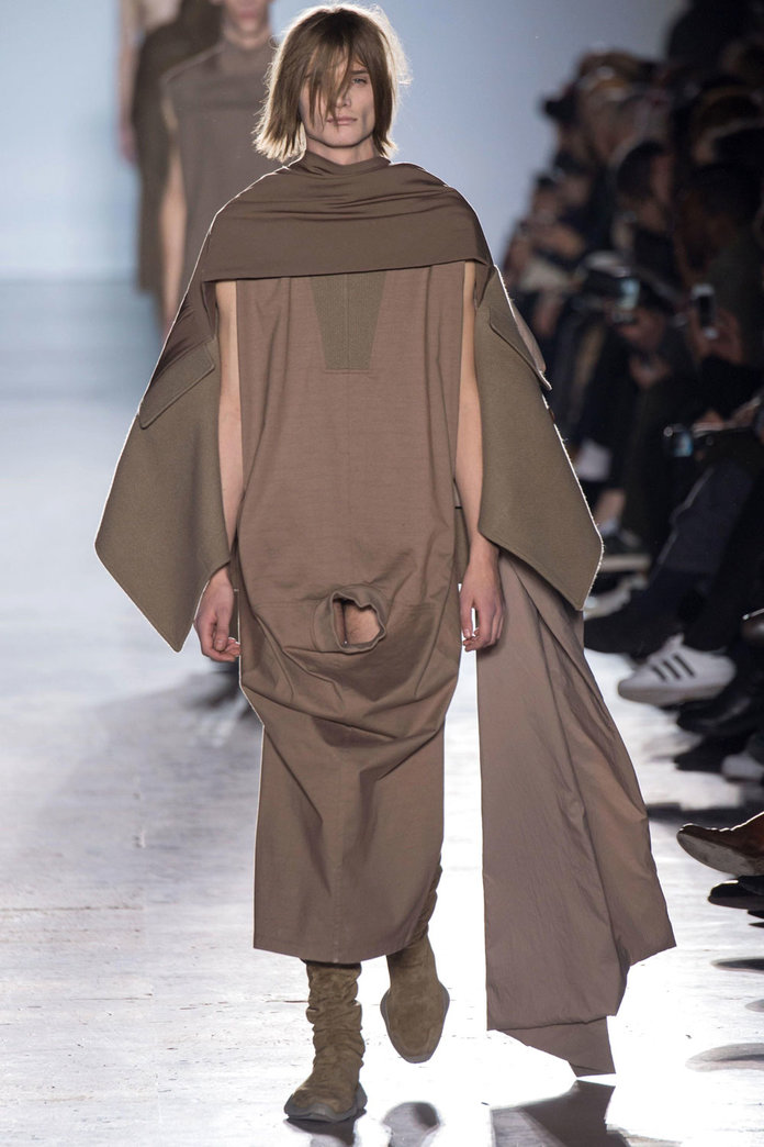 Rick Owens Causes A Stir With Full Frontal Male Nudity At His Paris Show
