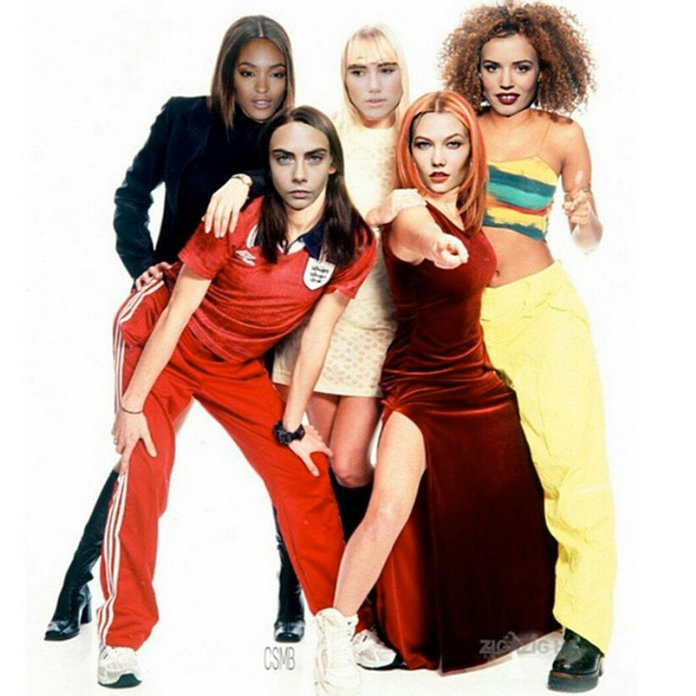 So This Is What Suki, Cara, Jourdan And Co Look Like As The Spice Girls