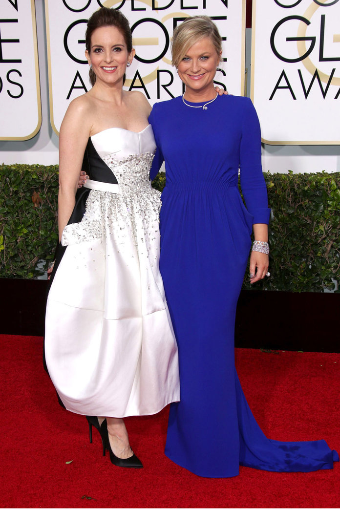 10 Of Tina Fey and Amy Poehler's Funniest Jokes At The Golden Globes 2015