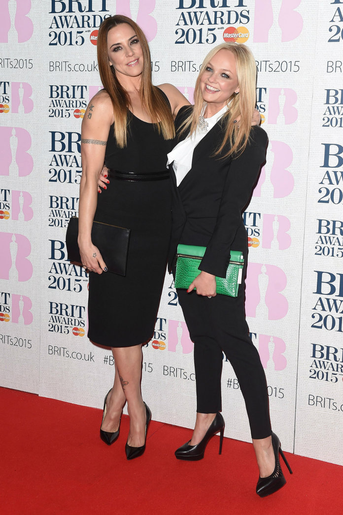 The Quiet Spice Girls Reunion You Might Have Missed At The BRITs 2015